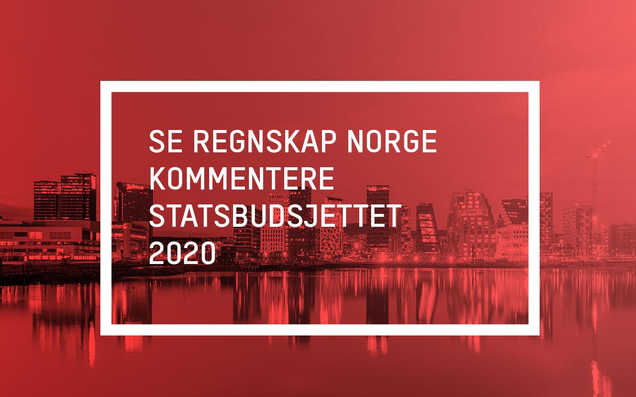 revidert statsbudsjett 2020